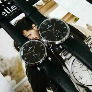 Jam tangan Excellence tali hitam