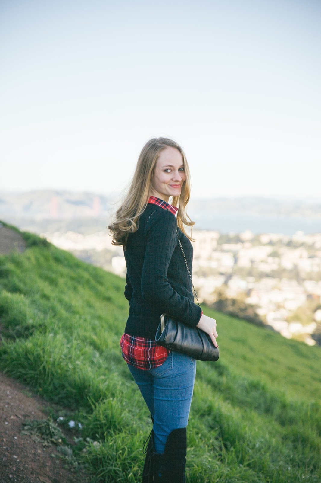 A Local's Guide to San Francisco + Plaid Layers at Twin Peaks