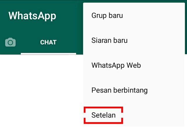 cara memonaktifkan riwayat online whatsapp