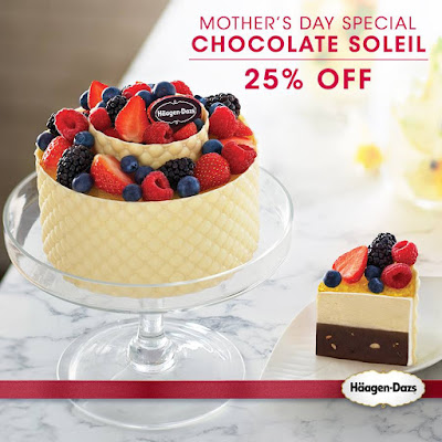 Haagen-Dazs Malaysia Chocolate Soleil Mother's Day Special Discount Promo