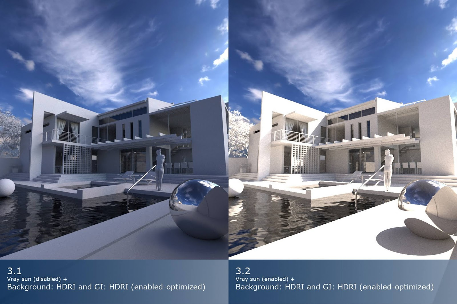 EXTERIOR RENDER Settings (Vray 3 4 for SketchUp)