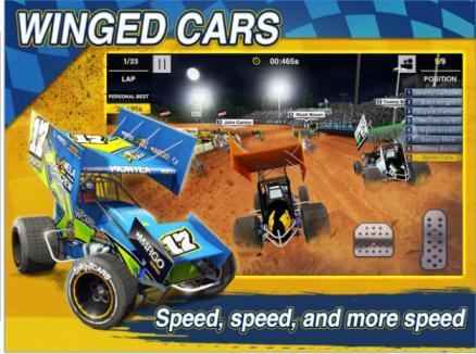 Dirt Trackin Sprint Cars MOD Apk