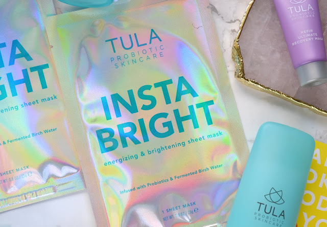 Tula Limited Edition INSTA BRIGHT Energizing and Brightening Sheet Mask