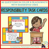 https://www.teacherspayteachers.com/Product/Responsibility-Task-Cards-2227600