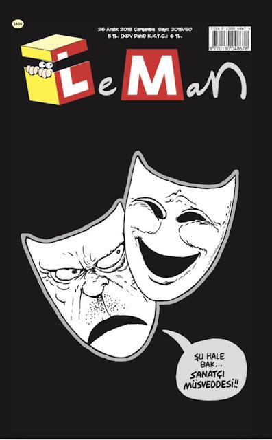 LeMan Dergisi | 26 Aralık 2018 Kapağı