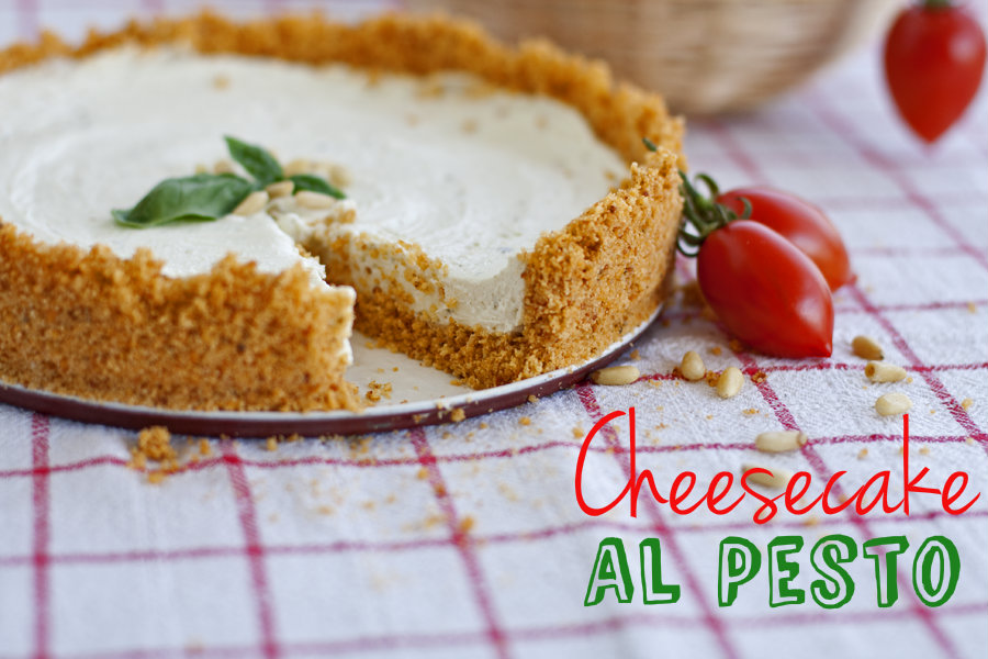 [I love food] Cheesecake al Pesto