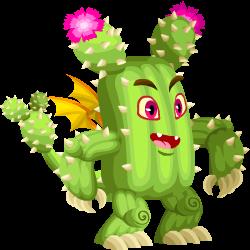 Kaktus-Drache