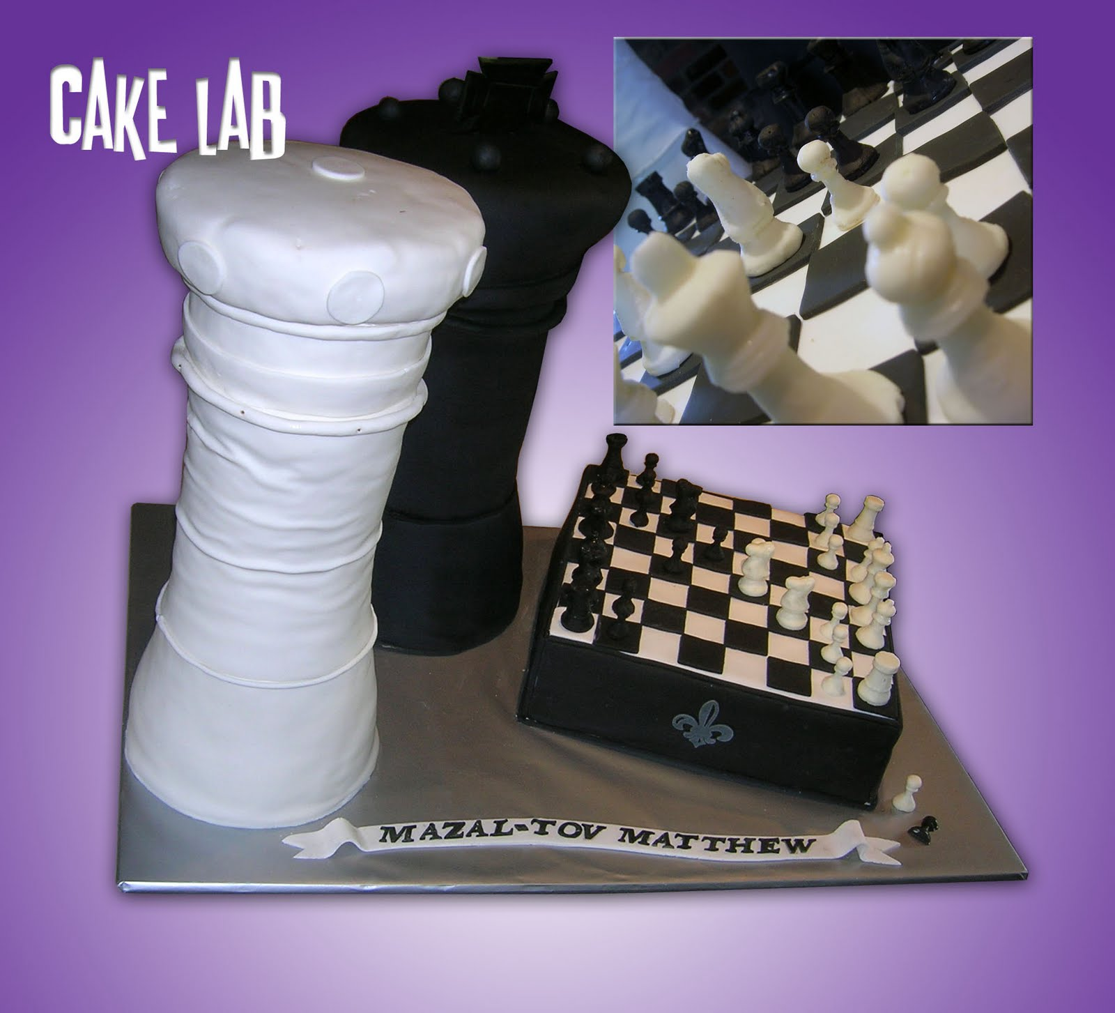 Images Of Chessboard Cakes