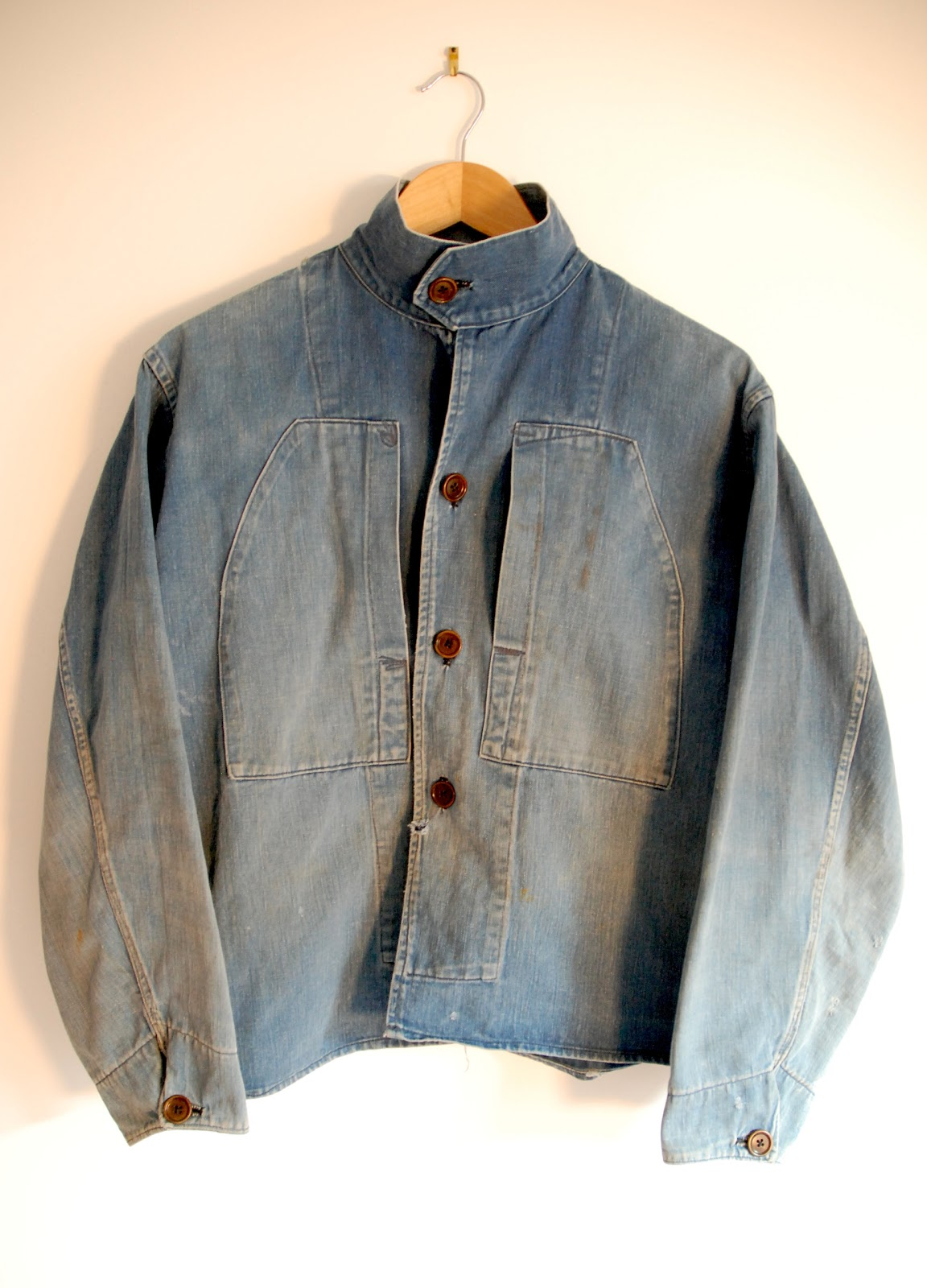The Vintage Catalogue: 1930 French Navy chore cotton denim ...