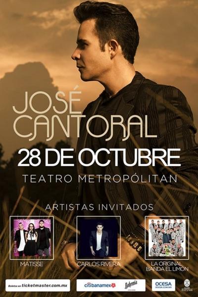 4561a1775c EnPOPados  José Cantoral tendrá invitados de lujo en su concierto ...