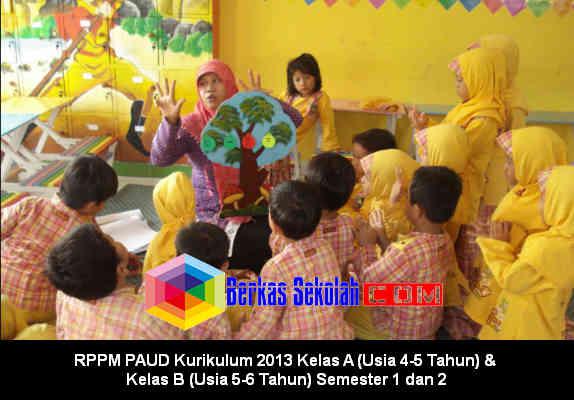 Download RPPM PAUD Kurikulum 2013 Kelas A dan B di Berkas Sekolah
