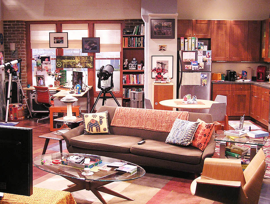 Downloadable House Designs for Sims 3: BIG BANG THEORY RAJ'S