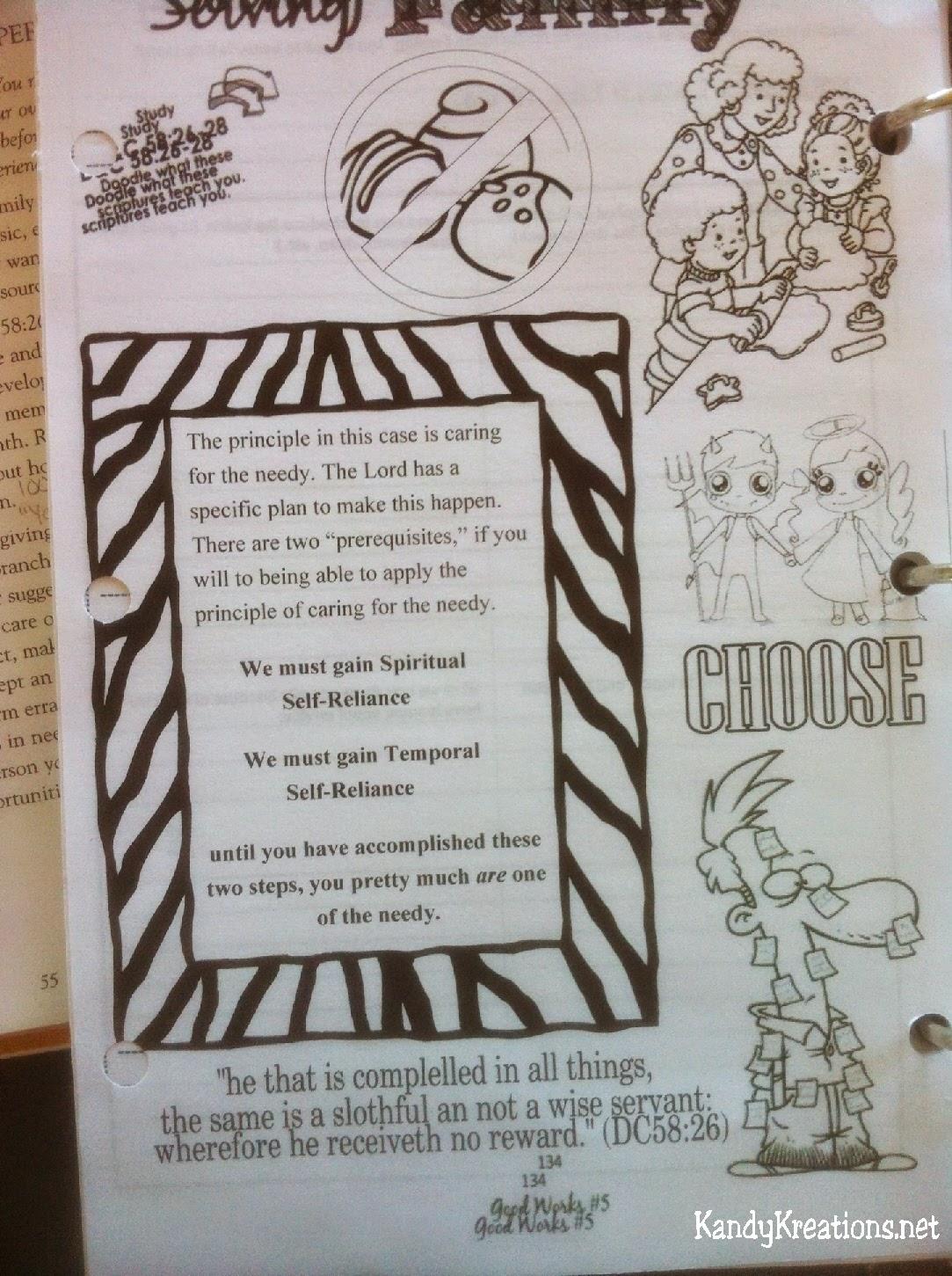 Scripture Doodle Journal
