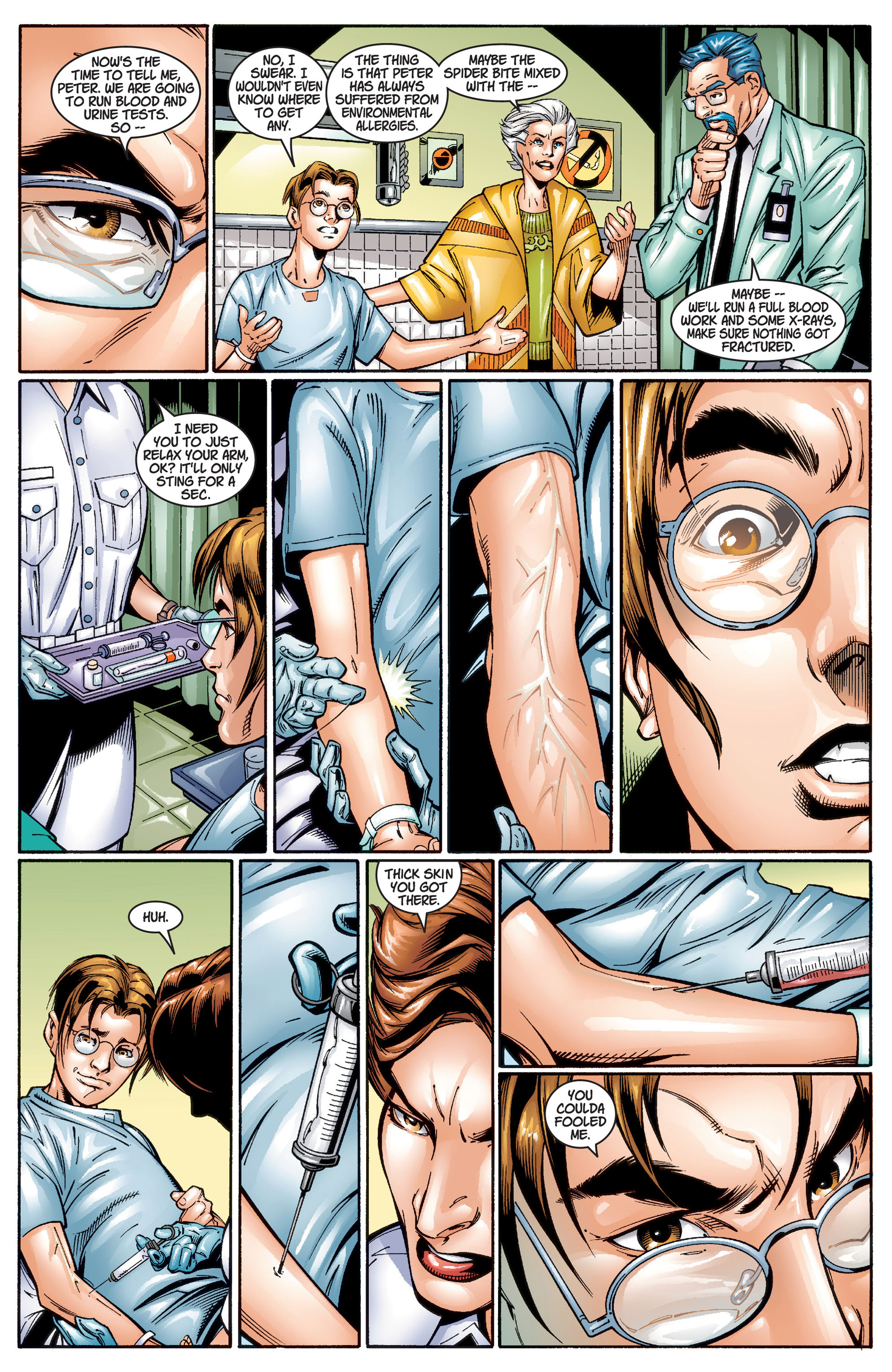 Read online Ultimate Spider-Man (2000) comic -  Issue #1 - 33