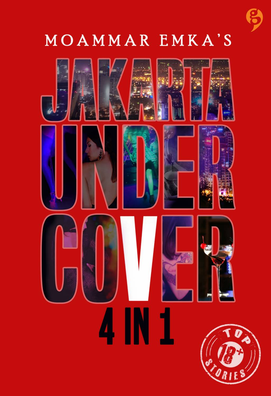 Jakarta Undercover 4in1 TTD Bonus Pulpen Eksklusif Soft Cover Tanda Tangan Oleh Moammar Emka