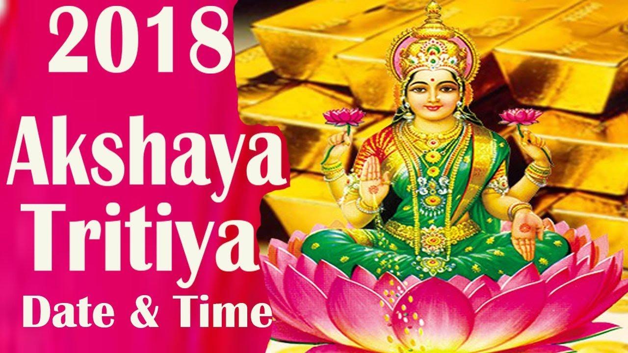 Akshaya Tritiya (Akha Teej) 2018 Date & Time, History, Significance and Importance
