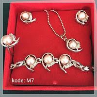 Jual Set Perhiasan Mutiara