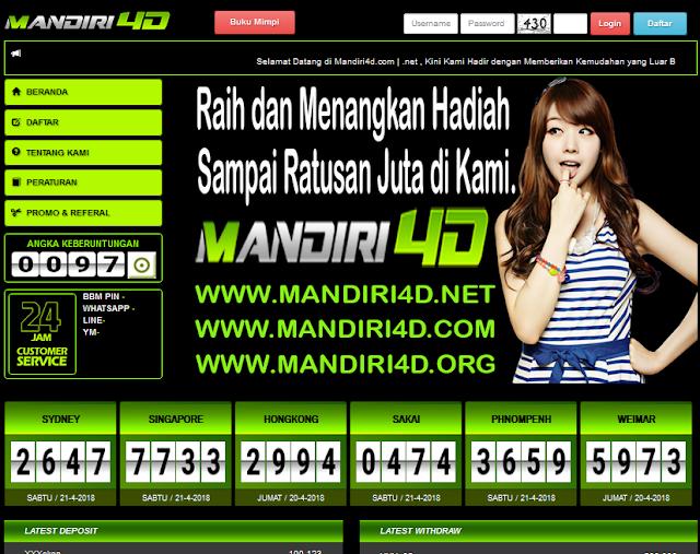http://mandiri4d.com