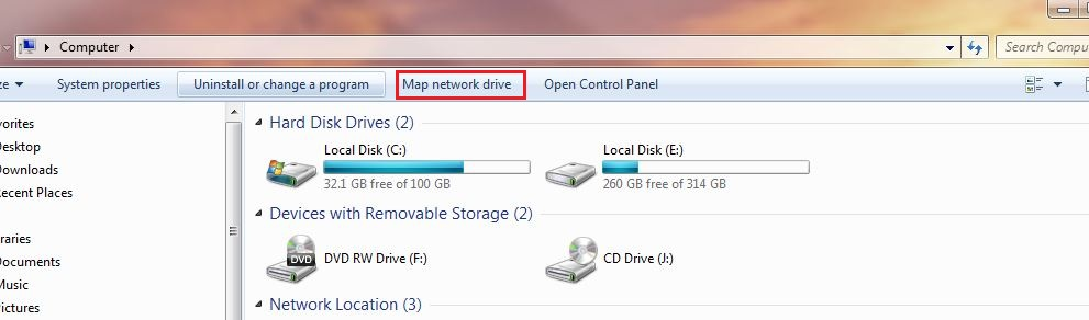 Sec-Art: How to Map a Network Drive in Windows 7/8/10 on disconnected network drive windows 7, map network drive windows 10, map network drive harden portal, home network windows 7, map network drive windows mobile, character map windows 7, map windows network icons, xp map drive windows 7, cannot map drive windows 7, map webdav windows, ftp drive letter windows 7, map network folder windows 7, map computer drive, map of blue ridge parkway and skyline drive,
