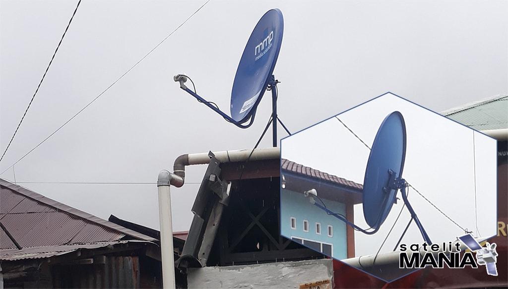 Cara Tracking Satelit ABS2 Ku Band