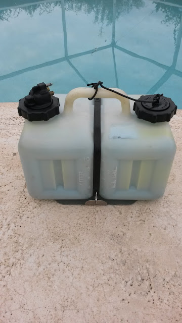 Mercury Outboard Oil Tank Bracket Stainless Steel