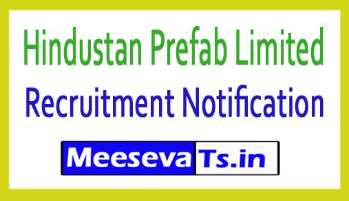 Hindustan Prefab Limited HPL Recruitment