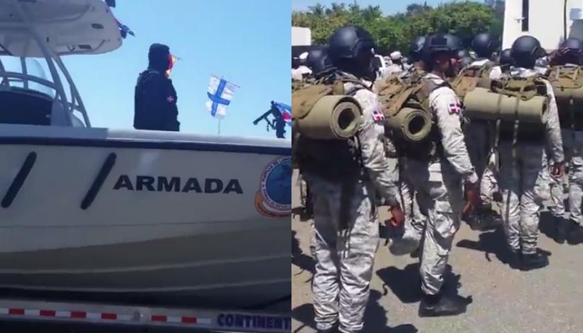 tropas dominicanas