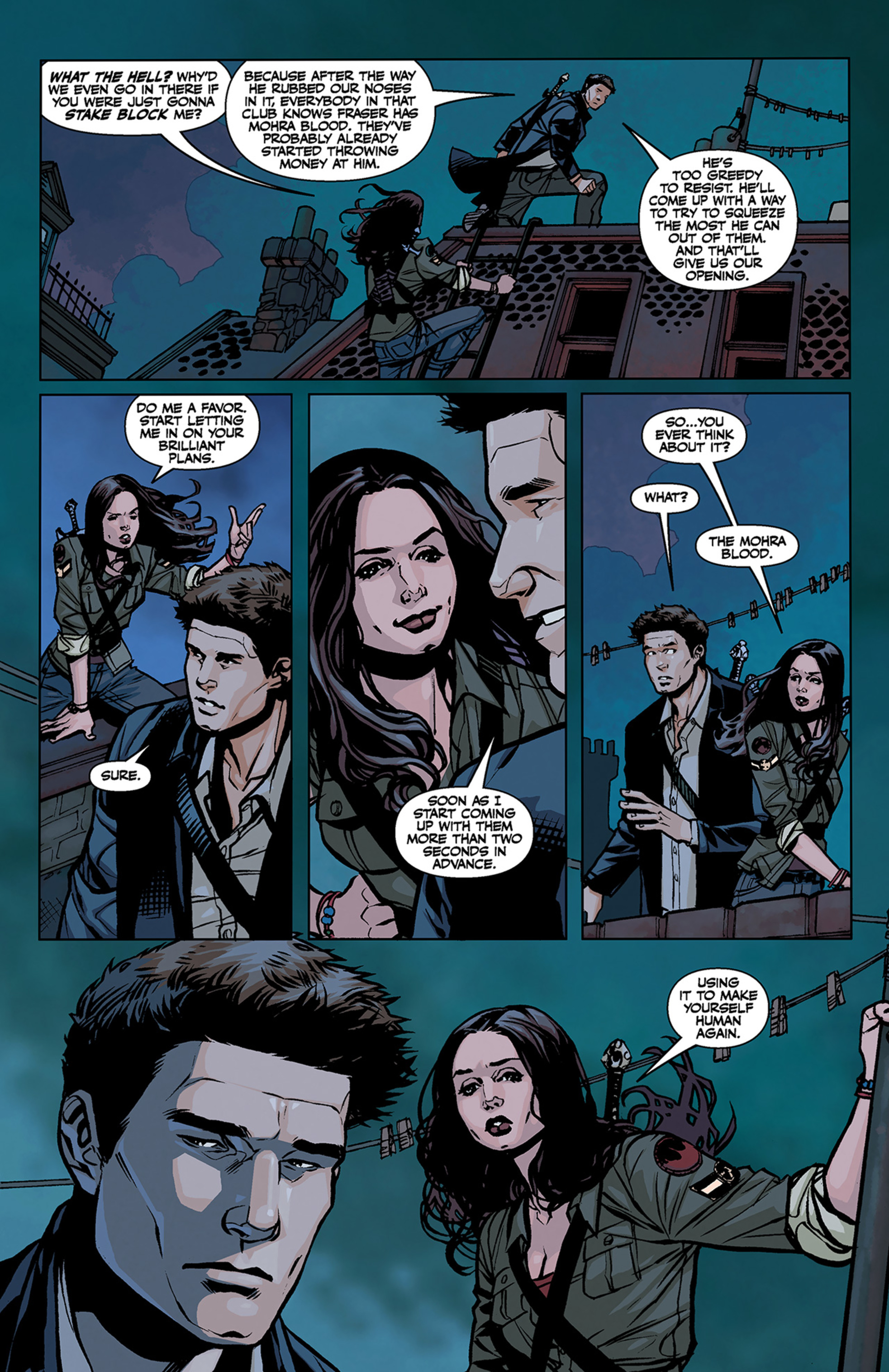 Read online Angel and Faith comic -  Issue #3 - 7