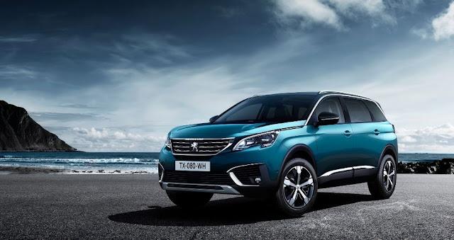Peugeot 5008 2017 - Ofrece la variedad de 4 motores de gasolina y 6 de diésel