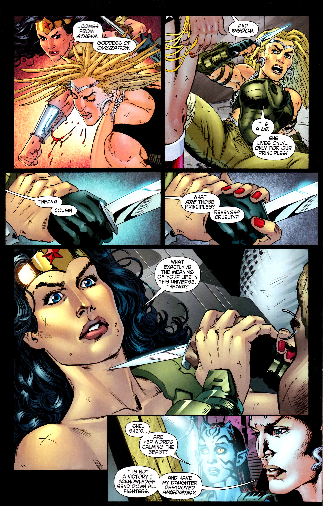 Read online Wonder Woman (2006) comic -  Issue #44 - 13