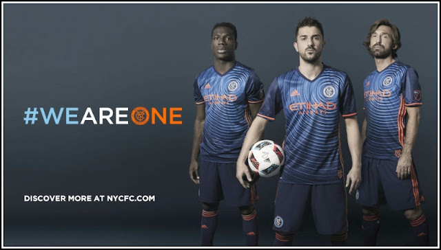 New York City FC 2016 Away Kit Official
