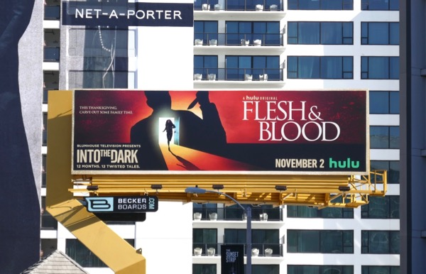 Into the Dark Flesh Blood November billboard