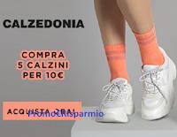 Logo Calzedonia : Compra 5 calzini a soli 10€ : affrettati ! e scopri la nuova collezione mare