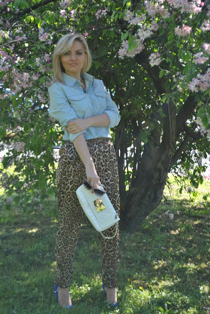 outfit pantaloni leopardati come abbinare i  pantaloni leopardati abbinamenti pantaloni leopardati how to wear leopard print pants how to combine leopard pants outfit aprile 2016 outfit primaverili spring outfit april outfit mariafelicia magno fashion blogger color block by felym fashion blogger italiane fashion blog italiani fashion blogger milano blogger italiane blogger italiane di moda blog di moda italiani ragazze bionde blonde hair blondie blonde girl fashion bloggers italy italian fashion bloggers influencer italiane italian influencer