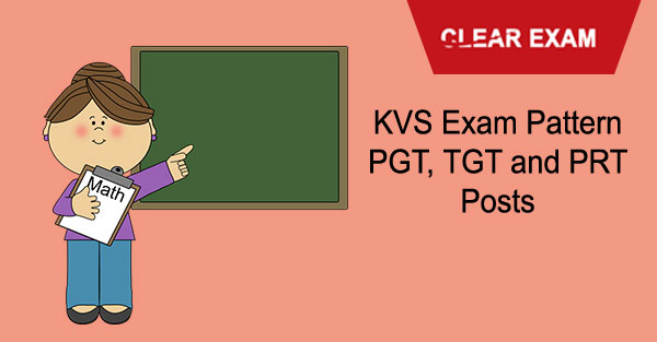 KVS Teachers Recruitment - Exam Pattern