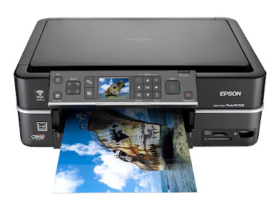 scan and copy photos with excellent quality Epson Stylus Photo PX710W Driver Downloads