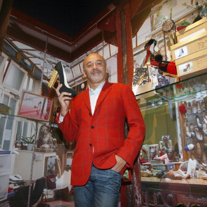 Christian Louboutin Celebrates 20 Years… Fishing
