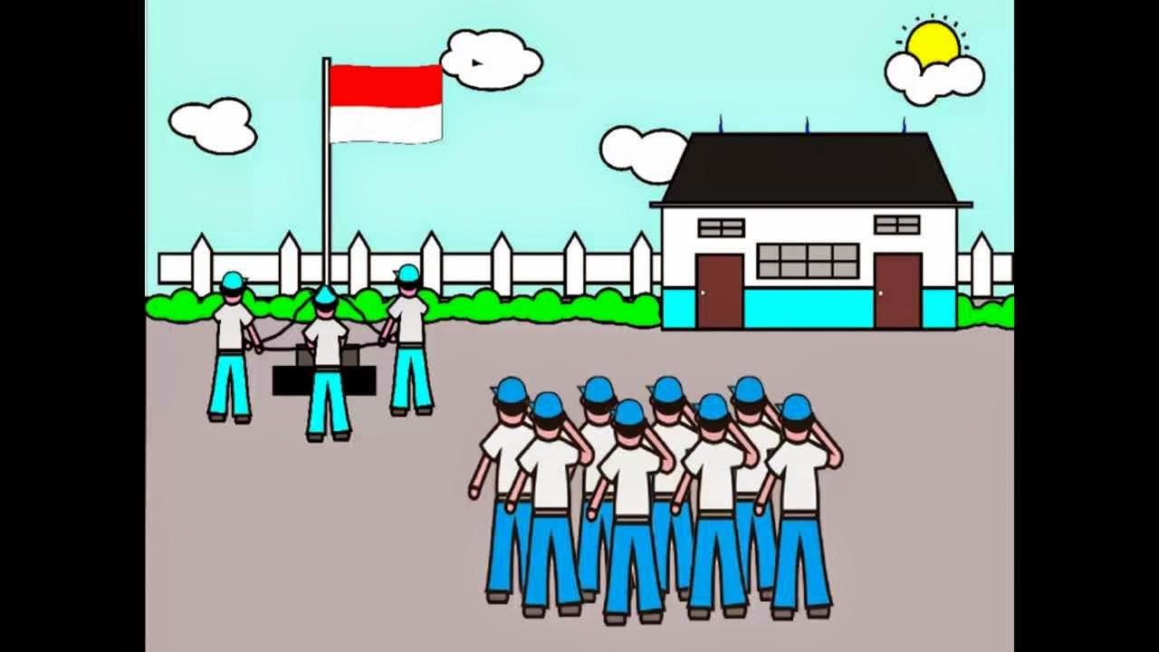Gambar Kartun Orang Upacara | Aliansi kartun