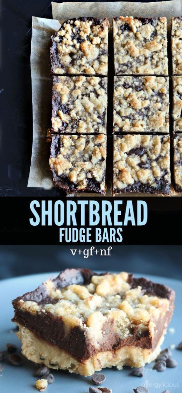 Shortbread Fudge Bars