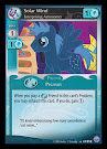 My Little Pony Solar Wind, Enterprising Astronomer Premiere CCG Card