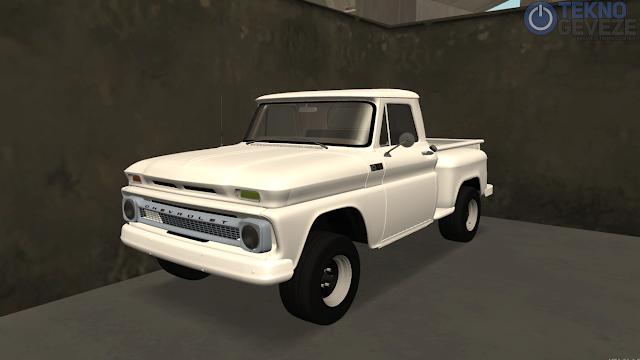 GTA SA Chevrolet Kamyonet Araba Modu