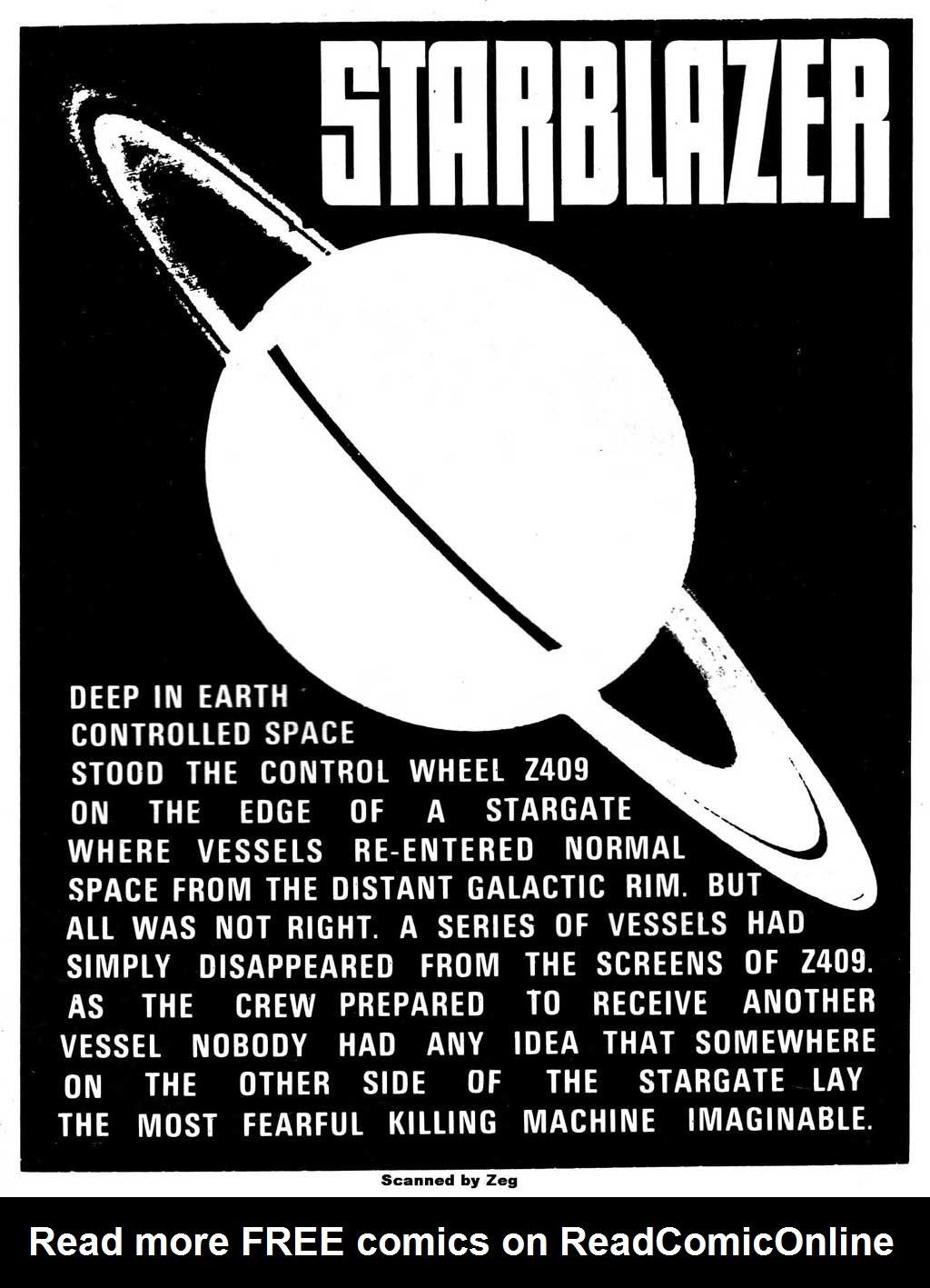 Starblazer issue 71 - Page 2