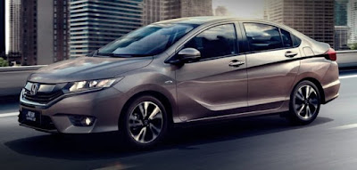 New 2017 Honda City facelift version side image