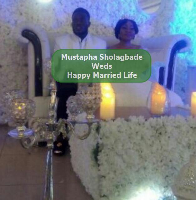 sholagbade mustapha wife