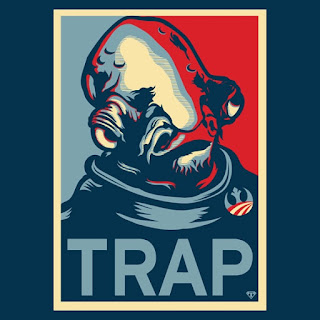 Star Wars Return Of The Jedi Admiral Akbar Trap Obama Poster