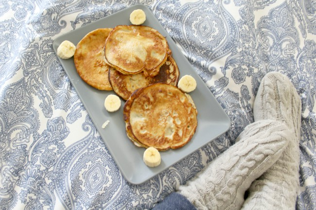 Dairy free, healthy pancake recipe