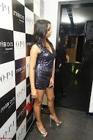 Sanjana looks happy in sparkling short Deep neck Purple Gown ~  Exclusive 04.JPG