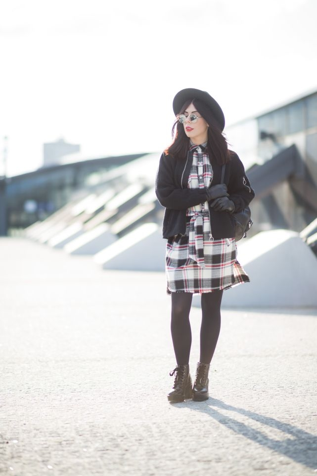 styl grunge blog modowy sesja fashion