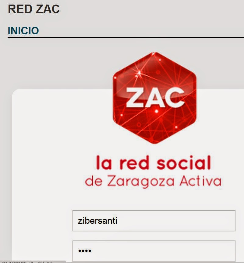 Acceso a Red ZAC