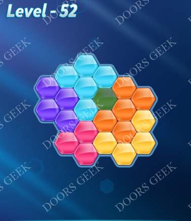 Block! Hexa Puzzle [Intermediate] Level 52 Solution, Cheats, Walkthrough for android, iphone, ipad, ipod
